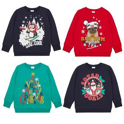 Kids Xmas Jumpers | Christmas Sweatshirt for Children | Boys Girls Festive