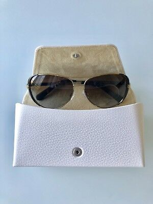 BNWT Michael Kors Chelsea Aviator Glasses Dark Brown/Gold