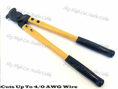 "Sky High Car Audio 2/0 Cable Cutter For Aluminum Copper Wire 14"" Up To 4/0 AWG"