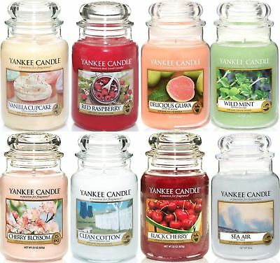 Yankee Candle Classic Housewarmer Large jars LIMITED TIME ONLY !!!