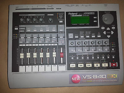 Roland VS-840EX digital studio workstation