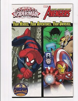 Marvel Universe Avengers And Ultimate Spider-Man #1 (Marvel 2012)