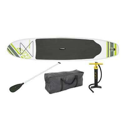 "Bestway Inflatable Hydro Force Wave Edge 122"" x 27"" Paddle Board, Green (Used)"