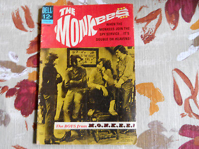 The Monkees-October 1967 #5 Dell Publication(Tv Series)