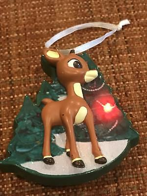 Light Up Rudolph the Red Nosed Reindeer Christmas Tree Ornament