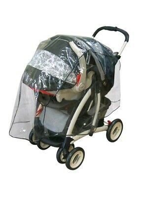 Jeep Travel System Weather Shield Baby Stroller Rain Cover Universal Size New