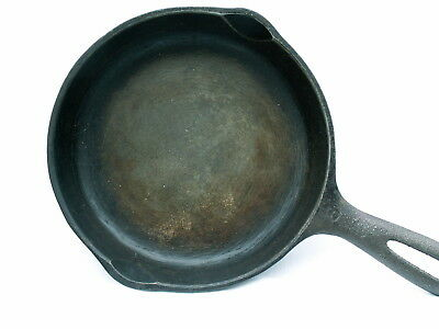"Vintage Wagner Ware Sidney Cast Iron Skillet No. 3 ~ 6 1/2"" ~ Made In USA ~ Z"