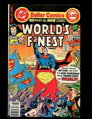 Worlds Finest #247 VF Giant Superman Batman Wonder Woman Green Arrow Flash