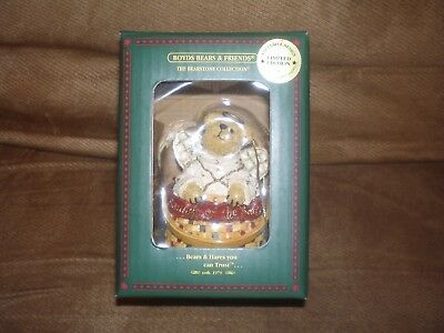 Longaberger Boyd's Bear Exclusive Melody Angel Ornament