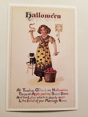 Lantern Press - Girl with Black Cat - Shipping Only $0.69 for Every 4 Purchased!