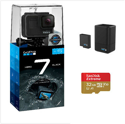 GoPro Hero 7 Black + GoPro Dual Battery Charger with Battery