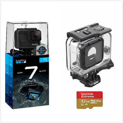 GoPro HERO 7 BLACK + 32G Sandisk Card +Super Suit