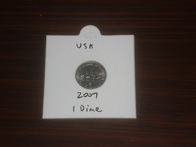 2007 USA 10 Cent coin United States of America ten cents American dime