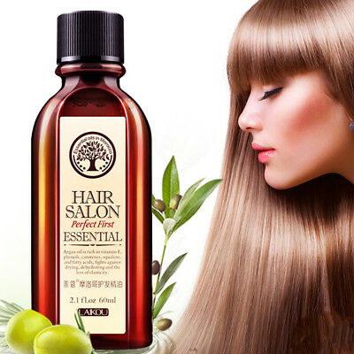 100% Pure Argan Oil of Morocco Treatment Fast Moisturize and Repair Hairs 60ml