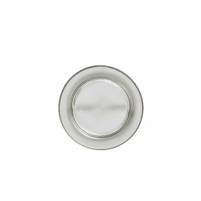 YANKEE CANDLE Piattino per giare piccole Small tray platinum fade