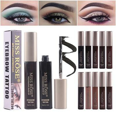 MISS ROSE Liquid Pigments Eyebrow Gel Natural Long Lasting Eyebrow Tattoo Tint