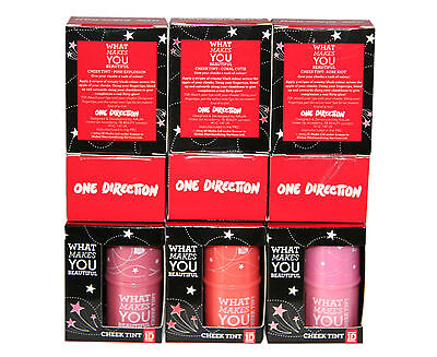9 x One Direction 1D Cheek Tint | 3 shades | Creamy and Smooth for a Dewy Look