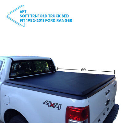 1982-2011 Ford Ranger 6FT Bed Soft Lock Assembly Tri-Fold Tonneau Cover