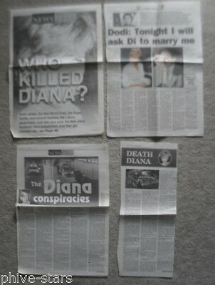 Diana Princess Diana Magazine Newspaper 1997 Death Funeral & Aftermath clippings