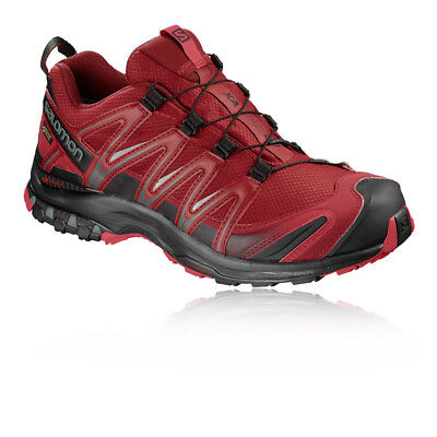 Salomon Mens XA Pro 3D GTX Nocturne Trail Running Shoes Trainers Sneakers Red