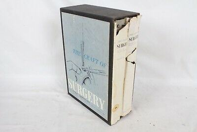 Vintage Medical Books The Craft of Surgery Philip Cooper 1964 Rousselot M.D.