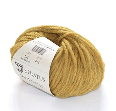 Juniper Moon Farm Stratus Merino Alpaca & Yak Wool 50g GOLDEN DUSK 105 Gold