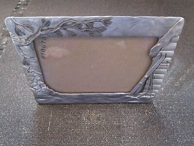 SEAGULL PEWTER Made in CANADA Etain Zinn Picture Frame ❄️ Let It Snow ❄️