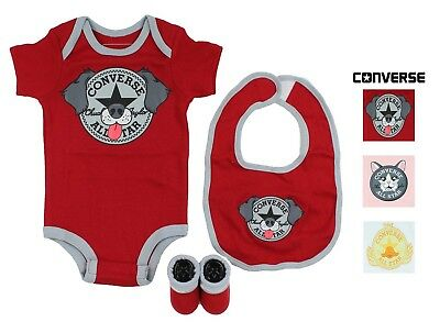 Converse Baby 3-Piece Layette Set