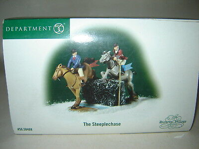 Dept 56 Dickens Village - The Steeplechase
