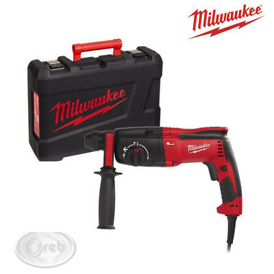 Tassellatore Milwaukee Ph26T Sds-Plus 800W 2.4J Foro 26 Mm. Trapano Percussione