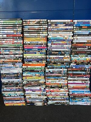 250 DVD Dvds wholesale joblot Bundle Mixed Boxsets sci fi Horror Resell Sealed