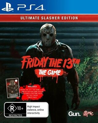 Friday the 13th: The Game (Ultimate Slasher Ed  - PlayStation 4 game - BRAND NEW