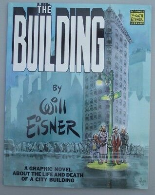 THE BUILDING GRAPHIC NOVEL ... NM- ..2000.......Bargain!