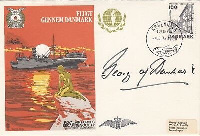 Rare Es15d Escape from Denmark  Signed by HRH The Prince of Denmark