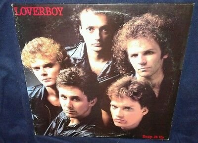 Loverboy / Keep it Up, 1983 Vinyl *NM* cover VG+, HOT GIRLS IN LOVE