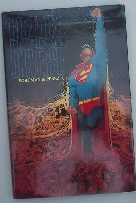 HISTORY OF THE DC UNIVERSE HARD COVER GRAPHIC NOVEL... NM- ..1988.......Bargain!