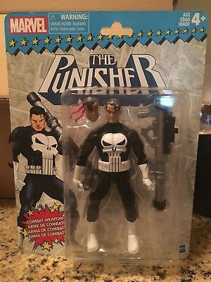 "MARVEL LEGENDS THE PUNISHER Action Figure NEW, Vintage/Retro 6"" Hasbro"