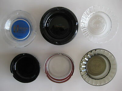 Las Vegas Casino Ashtrays ( Lot of 6 ) Mixed Casinos
