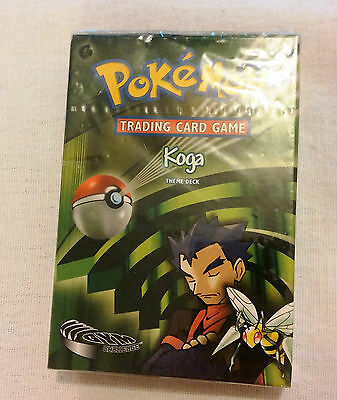 Pokemon  Gym Challenge KOGA theme deck - SEALED & new