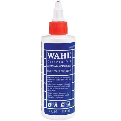 WAHL Lubricated Blade Oil for Hair Clipper Trimmer Shaver 4 oz