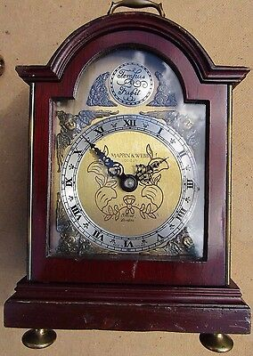 Vintage/Antique Mappin & Webb Scott Elliot Bracket Clock