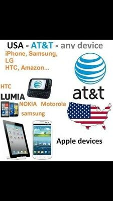 Factory Unlock✅PREMIUM VIP Service✅Code Att AT&T  ANY Phone ALL+ CLEAN IMEI