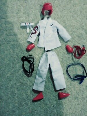 Ava Stars Martial Arts Clothes And Accessories Fit Barbie And Ken Dolls