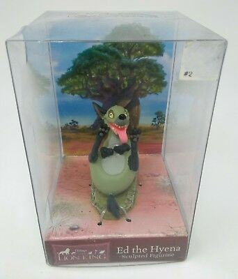 Ed the Hyena - DISNEY The Lion King Sculpted Figurine by Enesco - NEW IN BOX