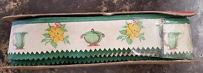 Vintage Antique WALLPAPER EDGING by WANKRAFT - Patent Applied For - 24 Yards