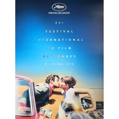 71th CANNES FILM FESTIVAL Original ROLLED Poster - 15x21 in.  - 2018 - RARE!