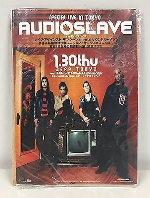 Rare Audioslave Live in Tokyo January 30, 2003 Japan Poster Chris Cornell
