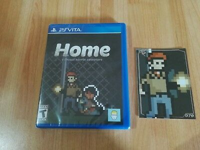 Home PSVita Limited Run Games - New & Sealed - Complete With Trading Card