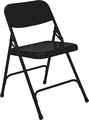 Classic Metal Folding Chair Black Set Of 24 Party Event Seating 600 Lbs Capacity