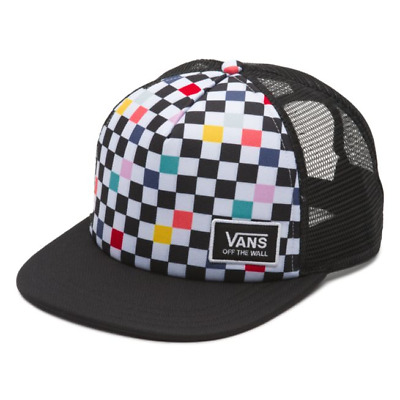 bf81a46992c Vans - BEACH BOUND Trucker Hat (NEW) Party Checker Snapback Cap   FREE  SHIPPING